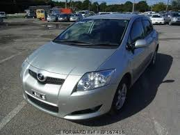 toyota auris used car used 2006 toyota auris 180g dba zre154h for sale bf167416 be