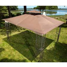 rite aid home design double wide gazebo amazon com 10 x 12 regency ii patio gazebo with mosquito netting