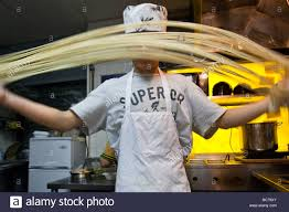 Handmade In New York - handmade noodles in a noodle shop in chinatown new york