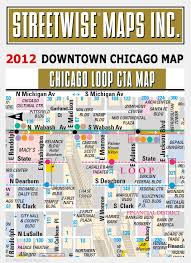 chicago tourist map chicago city map downtown chicago map