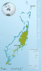 Map Of Coral Reefs About Palau Coral Reef Research Foundation
