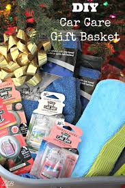 best friend gift basket diy car care gift basket