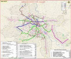 Red Line Metro Map Dmrc Publishes New Phase 4 Map U0026 Table Of Delhi U0027s Metro Project