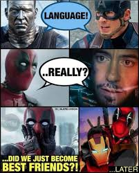 Funny Deadpool Memes - 25 deadpool memes that will leave you bloody and breathless