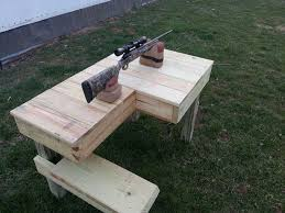 Portable Shooting Bench Building Plans Portable Shooting Bench Building Plans Dimensions Designs And