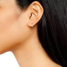 ear hoops snake hoops mini manon jewelry