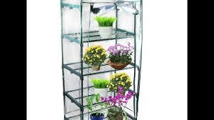 review kendal garden mini greenhouse 4 tier youtube