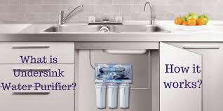 water filter under sink water purifier