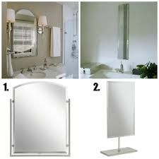 beveled mirrors for the bathroom lamps plus