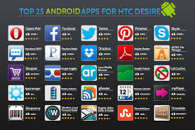 top 25 android apps for htc desire top apps - Best Apps For Android