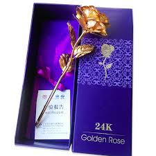 wedding gift gold creative s day birthday wedding gift 24k golden