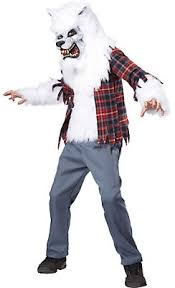 Werewolf Halloween Costumes Girls Boys Horror Costumes Scary Halloween Costumes Kids Party