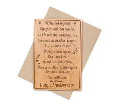 5 year anniversary gifts 5 year anniversary gifts for men 5th anniversary card wood