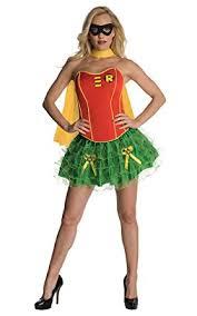 Green Tutu Halloween Costume Amazon Dc Comics Secret Wishes Robin Corset Tutu Costume