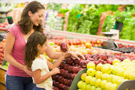 Saving Dinner by Shopping With Your Children Saving Dinner