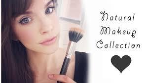 natural u0026 organic makeup collection youtube