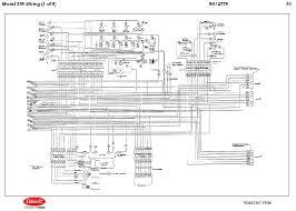 diesel ddec ii engine electrical wiring diagrams