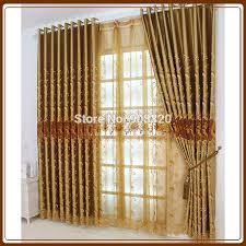 Gold Satin Curtains Curtains Black Picture More Detailed Picture About Fancy