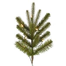 pre lit tree vickerman 45ft prelit utica fir flocked artificial