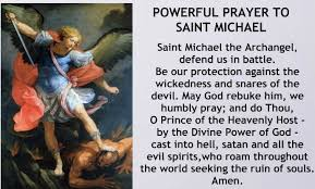 white light protection prayer apparition of st michael the archangel tlm propers catholic4life