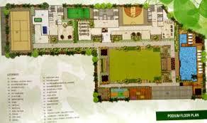 Podium Floor Plan by Bhagwati Greens 3 By Bhagwati Group In Kharghar Mumbai Price