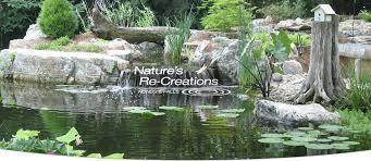 nature u0027s re creations custom ponds u0026 waterfalls in st louis