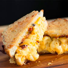 bacon mac and cheese grilled cheese recipe taste of home