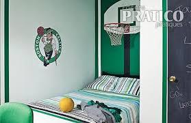 deco basketball chambre idées déco pour chambres d enfants sportifs déconome