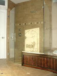 frameless glass shower door installation in williamsburg virginia