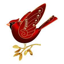 Cardinal Bird Home Decor by Ruby Red Cardinal Premium Ornament Keepsake Ornaments Hallmark
