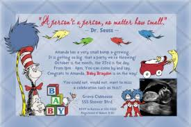dr seuss baby shower invitations dr seuss one fish two fish new fish baby shower invitation