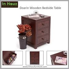 Sheesham Wood Furniture Online Bangalore Complement Your Bedroom Furniture With Our Solidwood Bedside Table