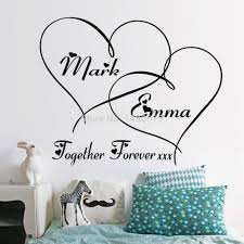 aliexpress com buy hot hearts customizable removable shelf art aliexpress com buy hot hearts customizable removable shelf art characters writing vinyl pvc decal wall sticker mural home decor from reliable home decor