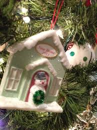gift idea ornament exchange to help trim your tree in