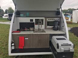 Stainless Steel Caravan Slide Out Kitchen 2 Drawers Sink Bench The Small Trailer Enthusiast News U0026 Info For The Small Trailer