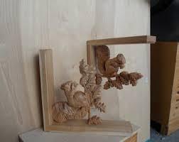Corbel Shelf Brackets Wood Wall Art Corbel Etsy