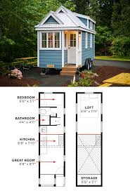 Is Floor Plan One Word by Tiny House Plan 76166 Total Living Area 480 Sq Ft 2 Bedrooms