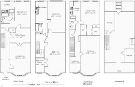 row home plans row house plans modernns floor plan clipgoo floorn new home