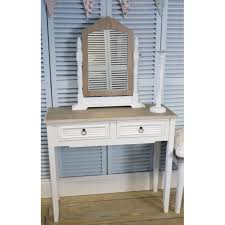White Shabby Chic Dressing Table by White Vintage Shabby Chic Two Drawer Dressing Table Hall Table