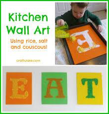 kitchen artwork ideas kitchen wall craftulate