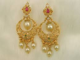 gold earings best 25 chand bali earrings gold ideas on indian