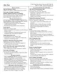 28 harvard mba resume format harvard mba resume format