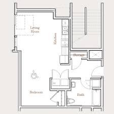 Studio Plans by Floor Plans