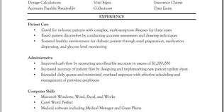 Resume For Medical Assistant Student Objective For Resume Medical Assistant Entry Level Resume Sample