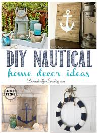 Inspire Home Decor Diy Nautical Home Decor Friday Features Domestically Speaking
