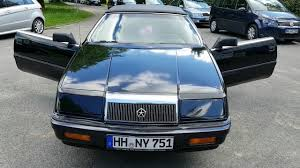 chrysler lebaron chrysler le baron convertible 3 0 liter v6 bj 1992 youtube