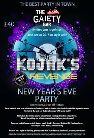 sunday 31st december 2017 new year u0027s eve party at the gaiety bar