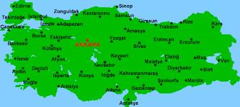 ankara on world map map of turkey by cities istanbul ankara izmir mugla canakkale