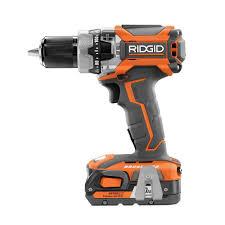 ridgid 18 volt lithium ion cordless brushless hammer drill kit