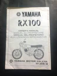 buku manual yamaha rxz boss